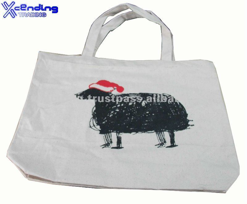Singapore X-CB24 promotional cotton Canvas tote Bag