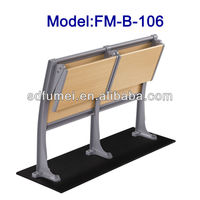 College folding campus student desk and chair Model FM-B-106
