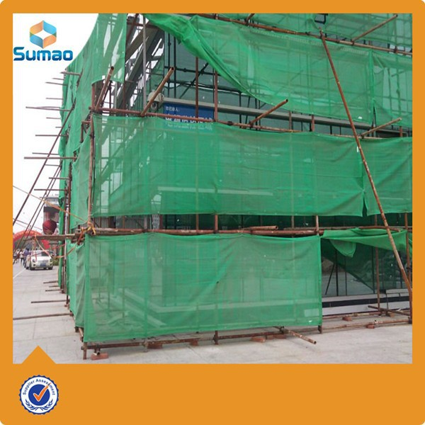 Different color 100% virgin hdpe safety net for construction