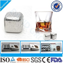 New Products 2016 Stainless Steel Ice Cubes