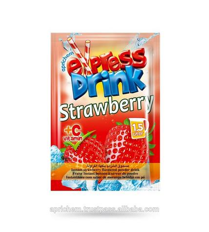 Strawberry Instant Powder Drink from Turkey