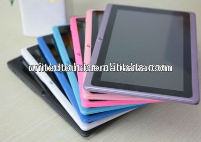 2013 best selling 7inch Android Tablet PC Q8 price China