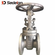 Flange 6 Inch Gate Valve Wedge Disc Industrial Valve