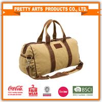 fashion canvas duffle bag
