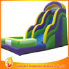 High quality inflatable fire truck slide can be used at park