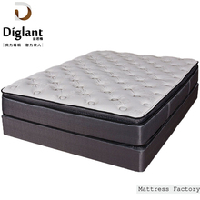 Natural Bamboo Thin Latex Foam Pillow Top Natures Bed Mattress