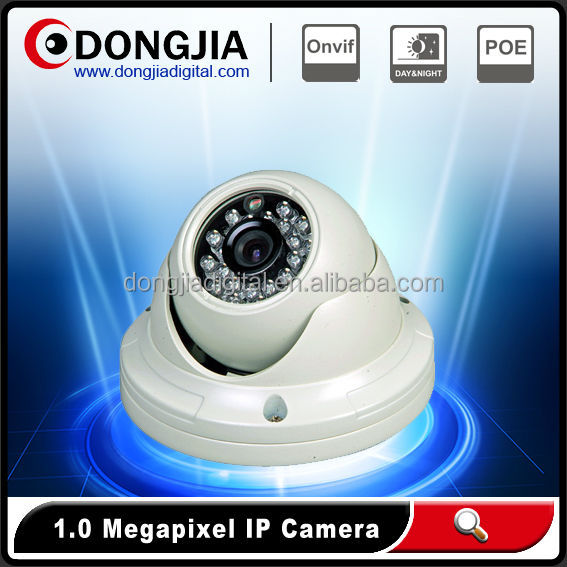 1.0 Megapixel Indoor Mini dual streaming IP Moniter Camera