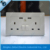 china supply CE British Wall Socket with double 2.1A USB port, CE british wall socket with dual 2.1A usb port and switch and led
