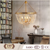 cheap wholesale indoor decoration metal led hanging chandeliers & pendant lights
