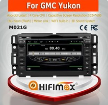 HIFIMAX Android 4.4.4 car dvd player for Chevrolet Tahoe 2007--2012 WITH Capacitive screen 1080P 8G ROM WIFI 3G INTERNET DVR