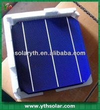 high efficiency silicon wafer 4-4.64W mono crystalline Solar Cell for solar panel DIY