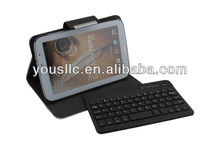 Deluxe 360 Degree Rotating Leather Bluetooth Keyboard Mobile Phone Case Cover for Samaung Galaxy Tab 3 8.0 N5100