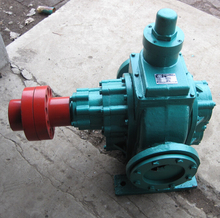 YCB Circular Gear Pump/Lubrication Oil Pump/Pump With Heat Preservation Jacket Stainless Steel or Cast Iron