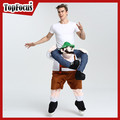 Wholesale Cute Workman Adult Carry me Mascot Costume