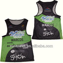Runtowel Custom Sublimated Mens Running Wear, Running Singlet