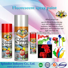 Colorful luminous acrylic fluorescent spray paint