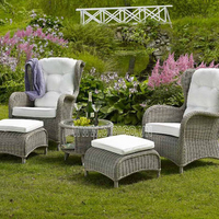 New Design Outdoor Wicker Table And