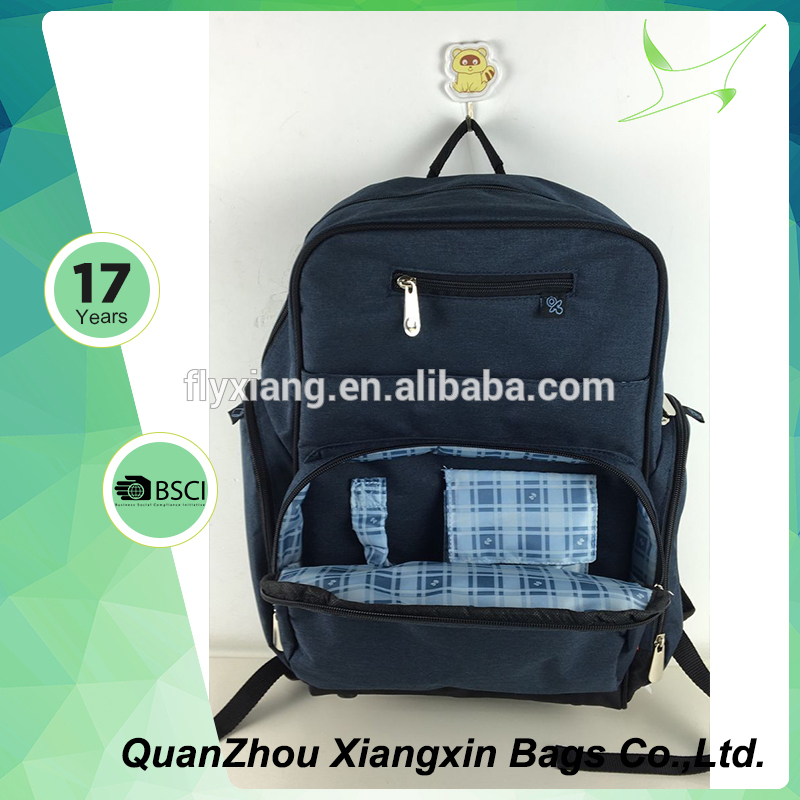 Best quality carrying comfort baby diaper nappy bags with cheapest price