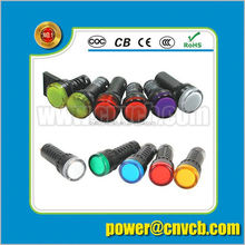 Hot Sale Manufacturer More Color Led metal indicator light mini motorcycle