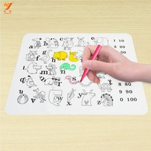RENJIA silicone baby kids placemat plate custom placemat
