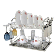2L Stainless steel rack,Plate holder,Kitchen Rack kitchen dish rack