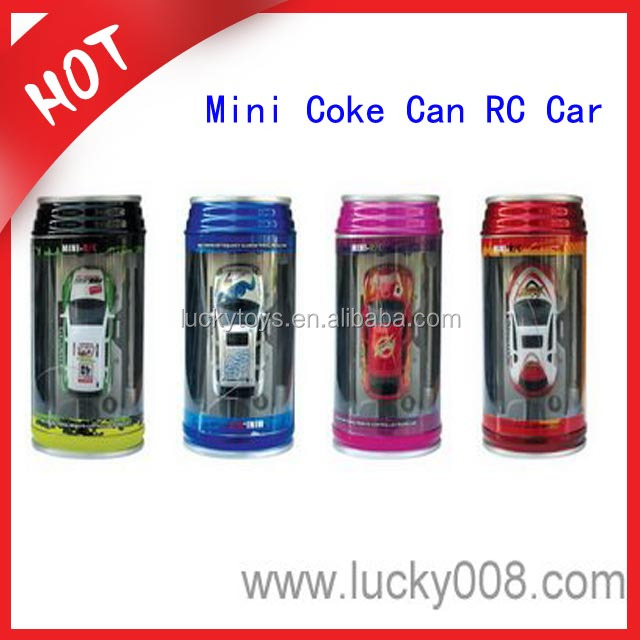 1:63 Scale Cute 4 Styles 8 Colors Coke Can Mini RC Car