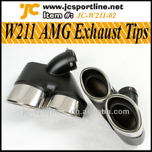 E-Class W211 Muffler Exhaust Tips For Mercedes Benz W211