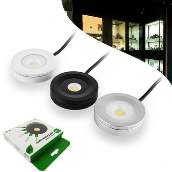 IP65 AC120V dimmable Led Puck cabinet Light