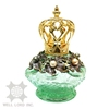 Crown cap royal design noble elite fancy quality massage oil warmer