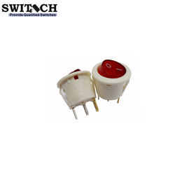 Automotive Rocker Switch with Red Led Light