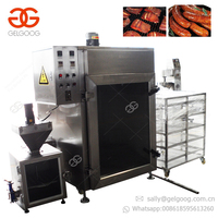 GELGOOG Equipment Sausage House Furnaces Pork Duck Smokehouse Bacon Bake Oven Chicken Sausage Smoker Meat Fish Smoking Machine