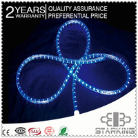 dia:12mm chasing led rope light with ce rohs gs bs ul saa