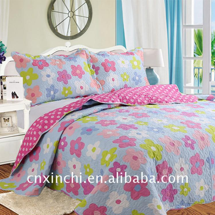 2017 hot style Newest design China quilts comforter sets bedding
