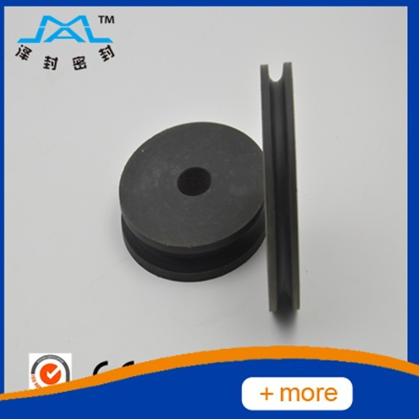 high hardness PA6 nylon pulley wheel in good price