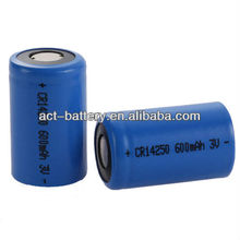 1/2 AA 3v Limno2 Lithium Battery Cr14250