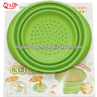 2013 New Design Convenient Silicone Foldable Noodle Strainer With High Quality
