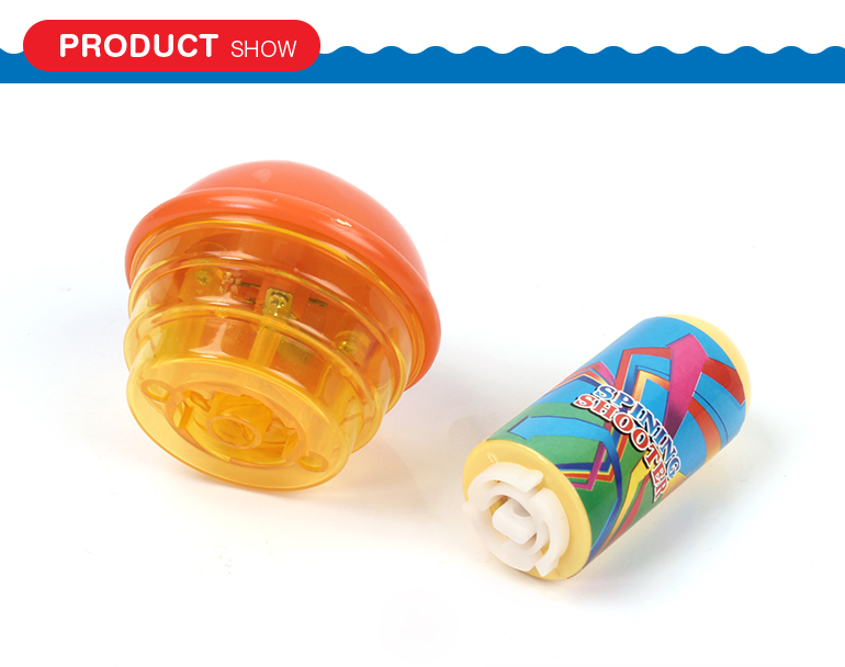 Wholesale cheap price children favorite flash light spinning top toys for kids
