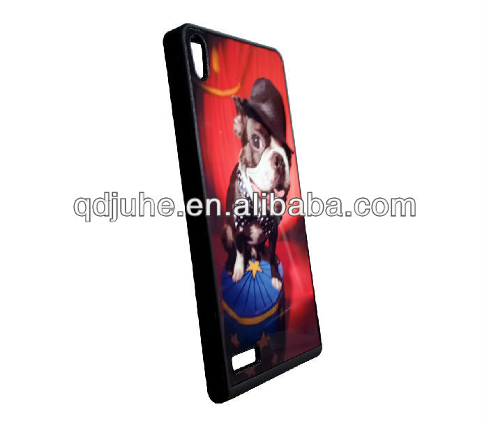 TPU sublimation print cell phone case for Huawei Ascend P6