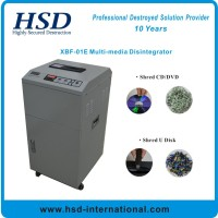 XBF-01E CD/DVD, U disk, Plastic card shredder/disintegrator