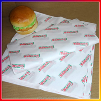 custom printed food grade greaseproof hamburger wrapping paper coloured packaging paper made in china manufacturer supplier
