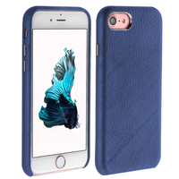 High quality genuine leather phone case for iPhone 7 plus