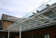 Flat Laminated Glass Roof