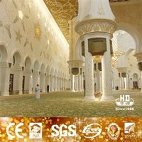 Sound Absorbed Machine Carpet For Mosque Customized Design