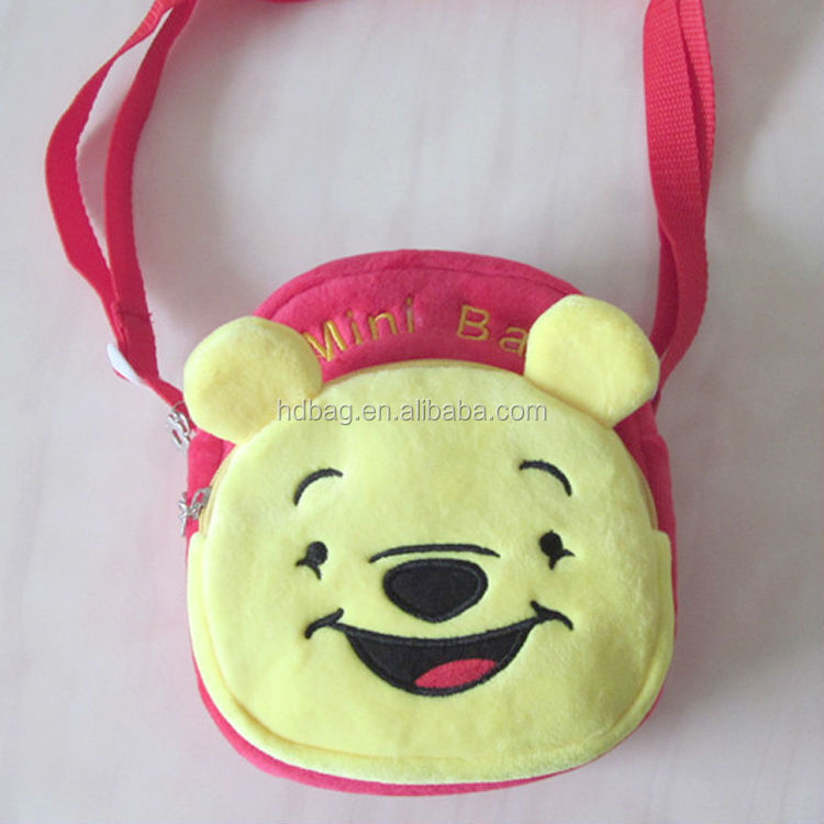 <strong>plush</strong> stuffed and <strong>plush</strong> cute toy bag stuffed bag for kids