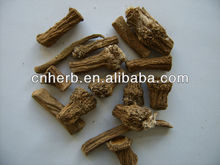 dried and natural burdock root whole and cut