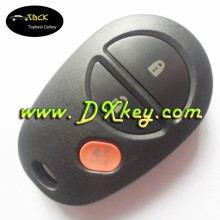 Wholesale price Tundra sequoia 3 buttons car remote key with 315mhz for toyota key