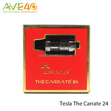 Hot selling Tesla The Carrate 24 rda with two driptip options