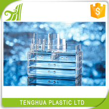 High quality factory price clear multi-drawer jewelry box