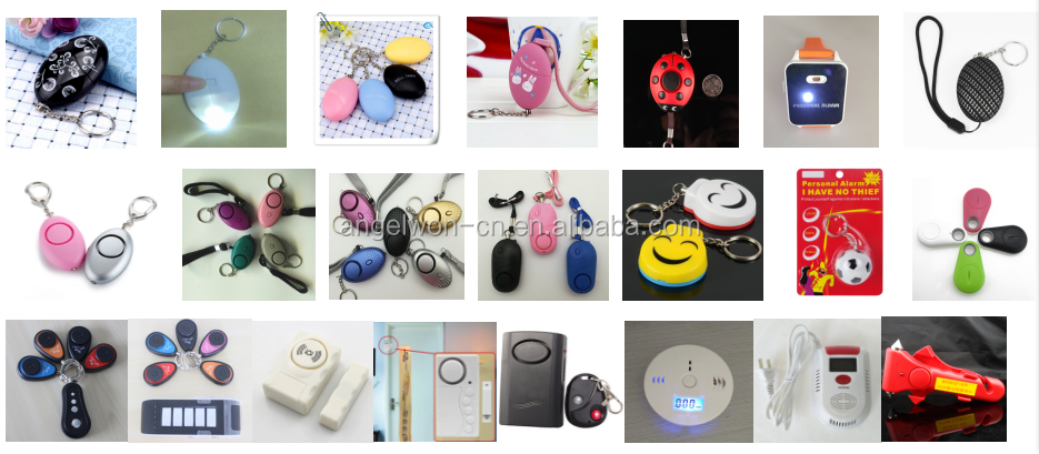 125db waterdrop shape personal security alarm students anti body attack safety alarm ladies anti wolf alert keychain
