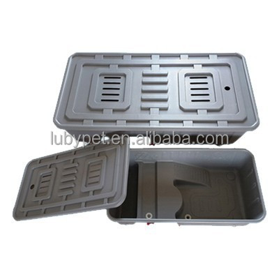 high quality plastic Water turtle breeding box for reptile, turtle